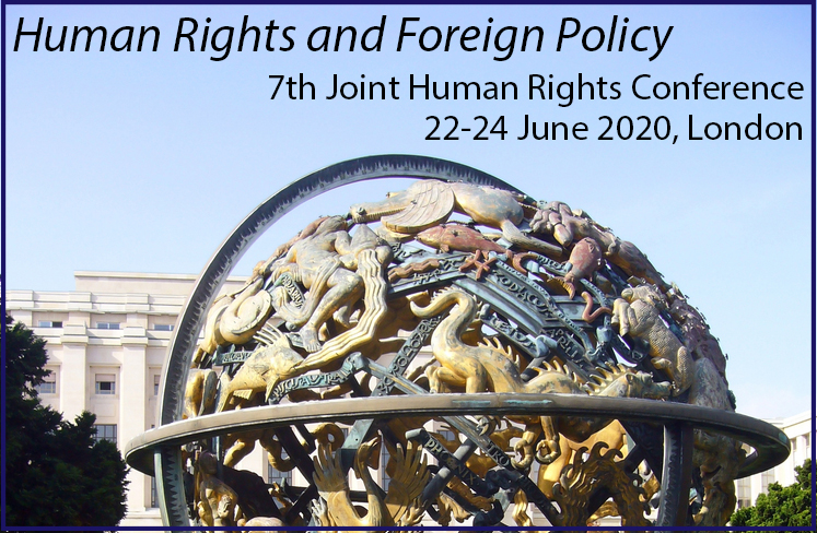 CALL FOR PAPERS: Human Rights and Foreign Policy - 7th Joint Human Rights Conference