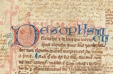 Medieval Manuscripts Seminar