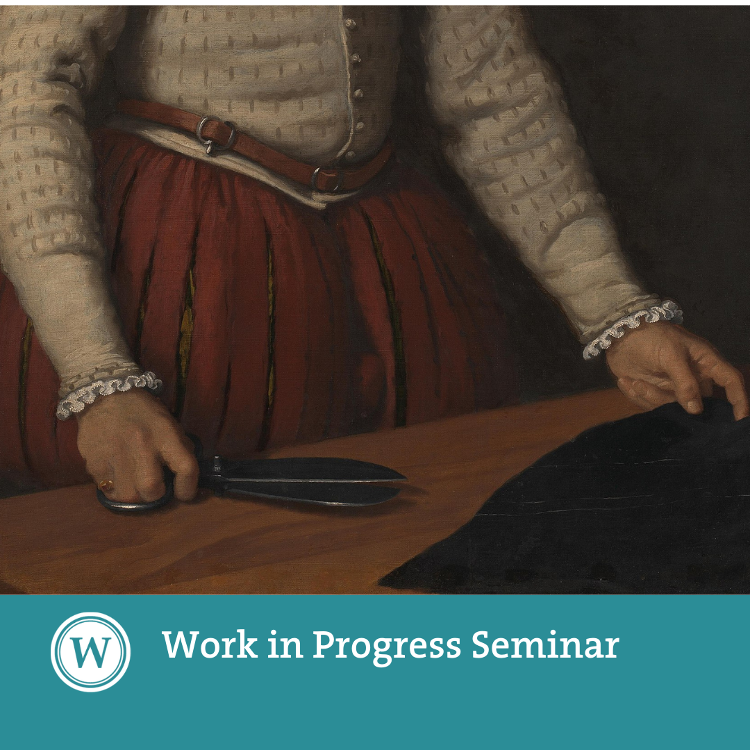 Work in Progress Seminar: 'Artistic Academies, Printed Books, and the Republic of Letters'