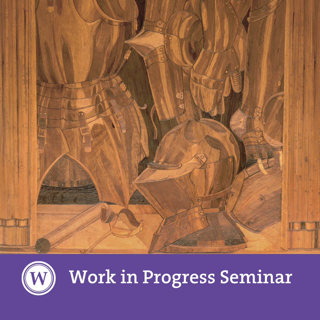 Work in Progress - Marta Ajmar: 'Looking into Renaissance Wood Intarsia: Material Mimesis, Embodied Disegno and Remaking'