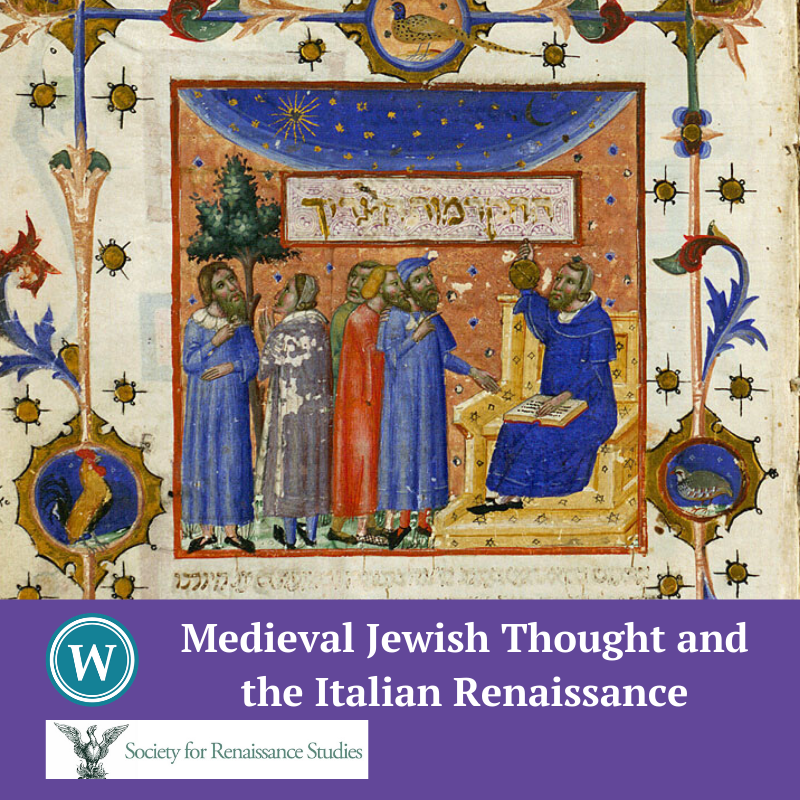 POSTPONED: Medieval Jewish Thought and the Italian Renaissance