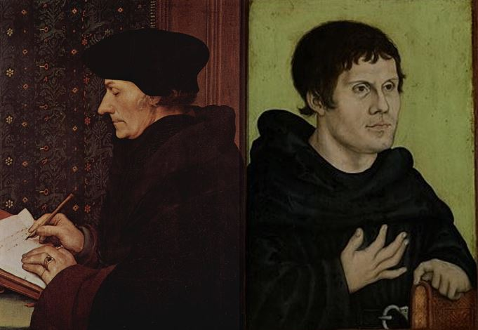 Erasmus and Luther on Free Will