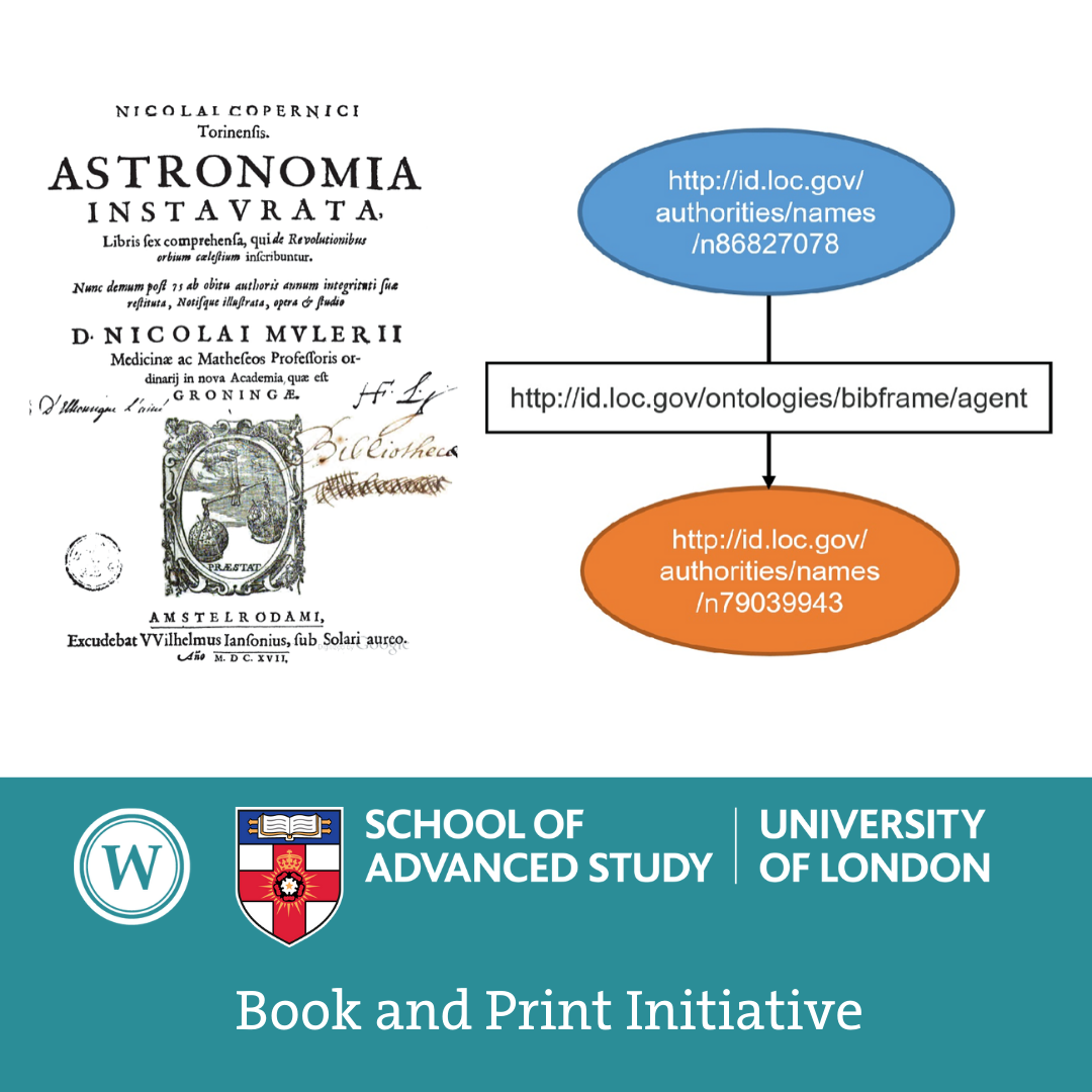 Book and Print Initiative: Argula Rublack (Senate House Library, University of London): 'The Trouble with Triples – Semantic Web ontologies and the future of the special collections catalogue'