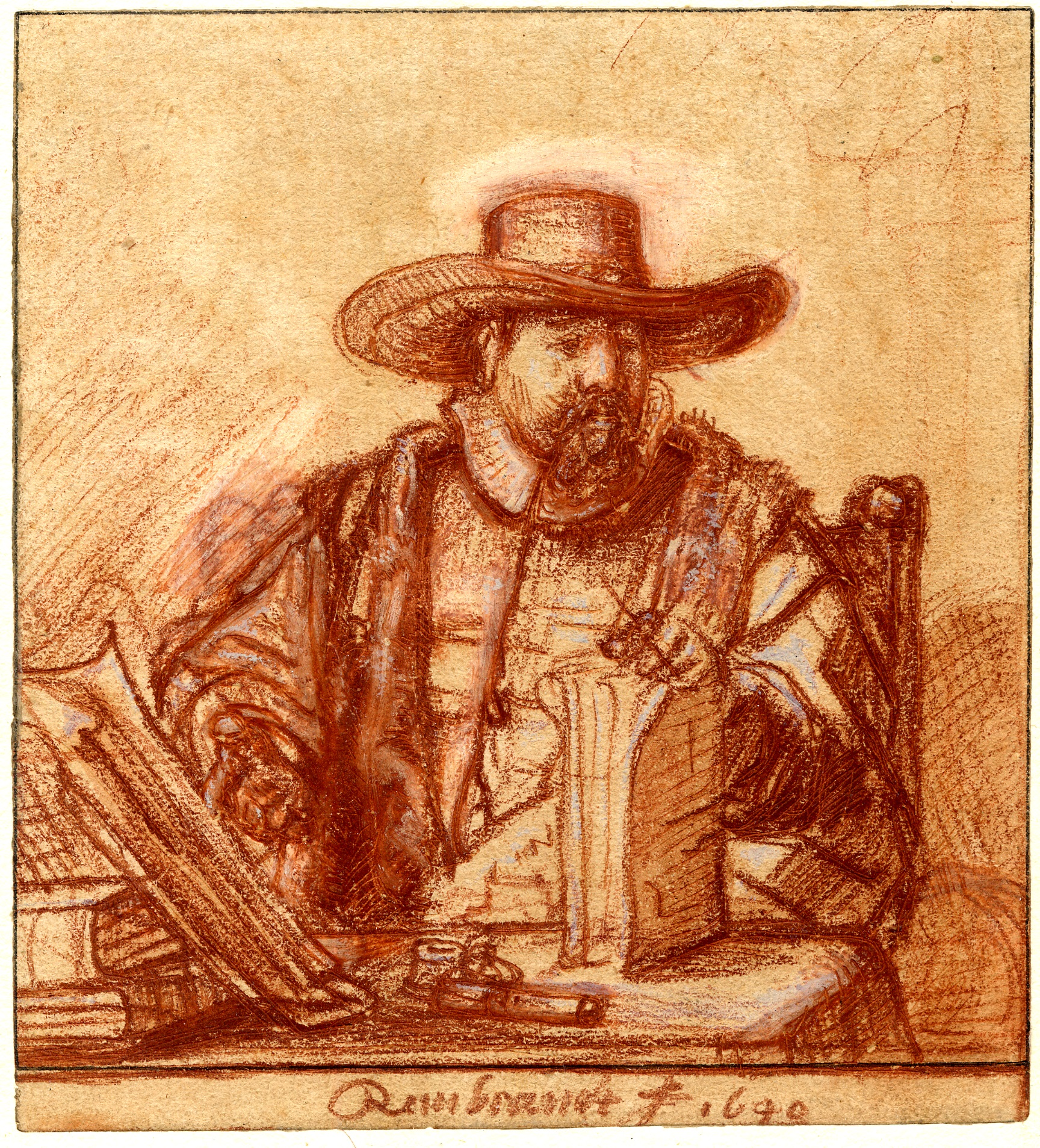 Rembrandt: Thinking on Paper Study Day