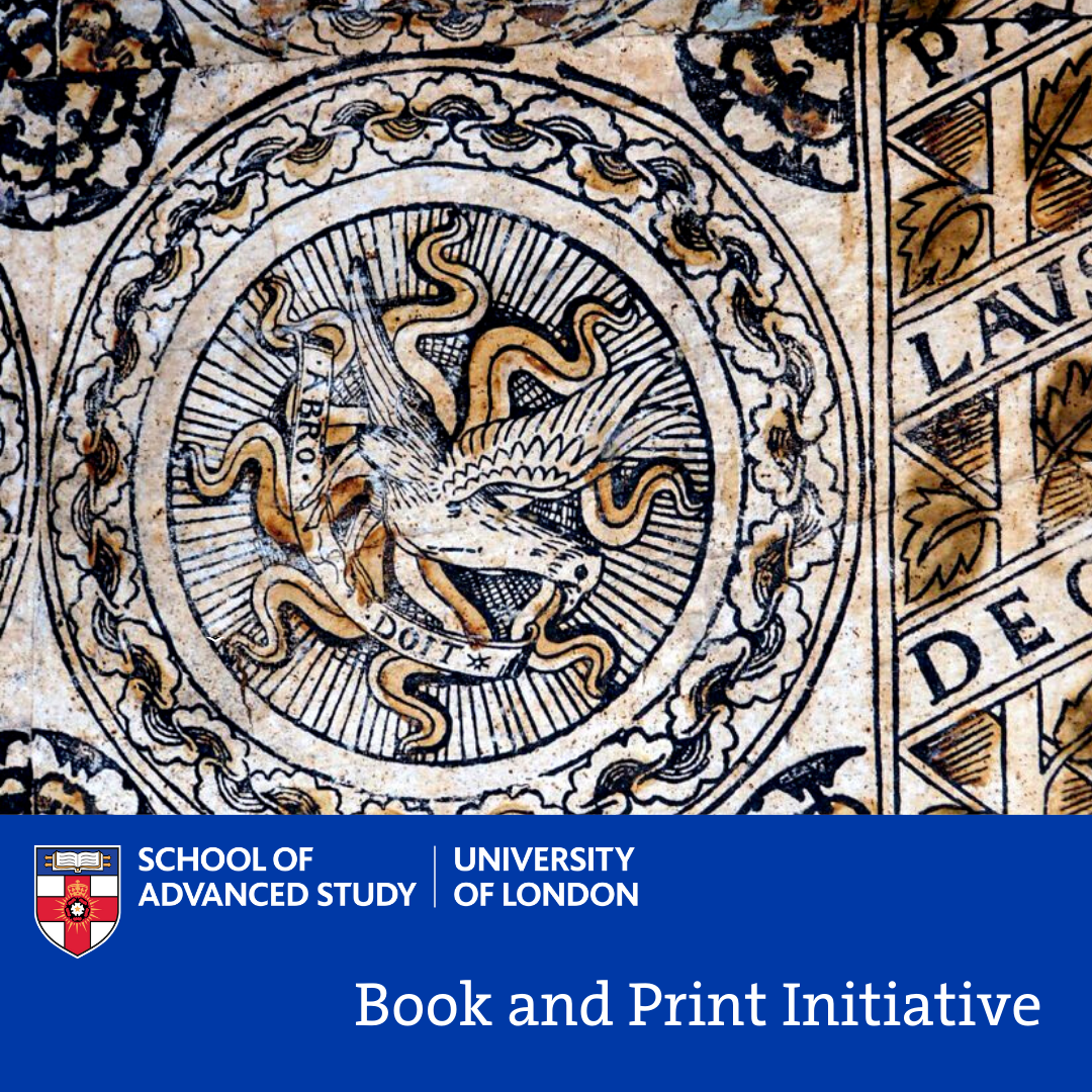 Book and Print Initiative - Laura Aldovini (Musei Civici, Pavia): 'From churches, furniture, and museums: cataloguing prints for the census of Italian Renaissance woodcuts'
