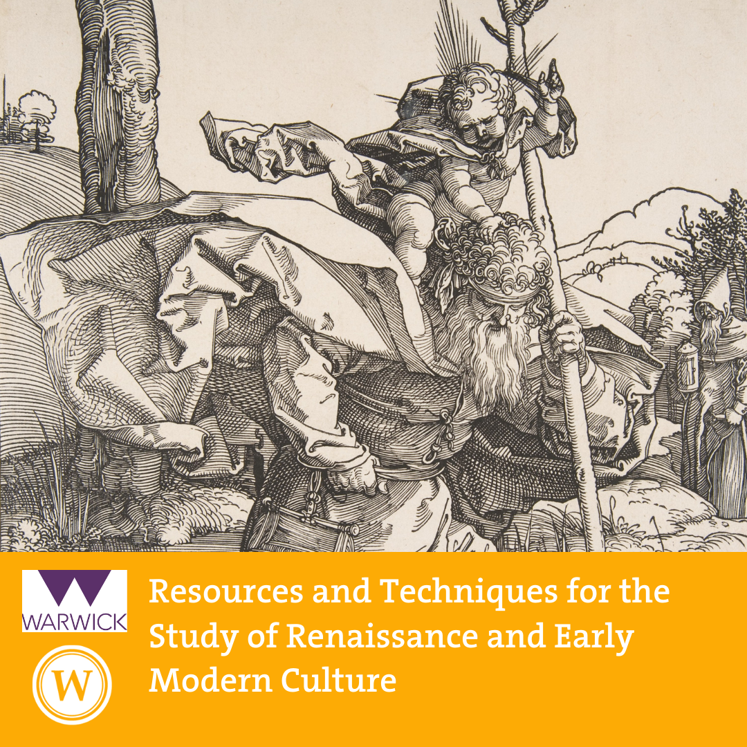 Resources and Techniques for the Study of Renaissance and Early Modern Culture