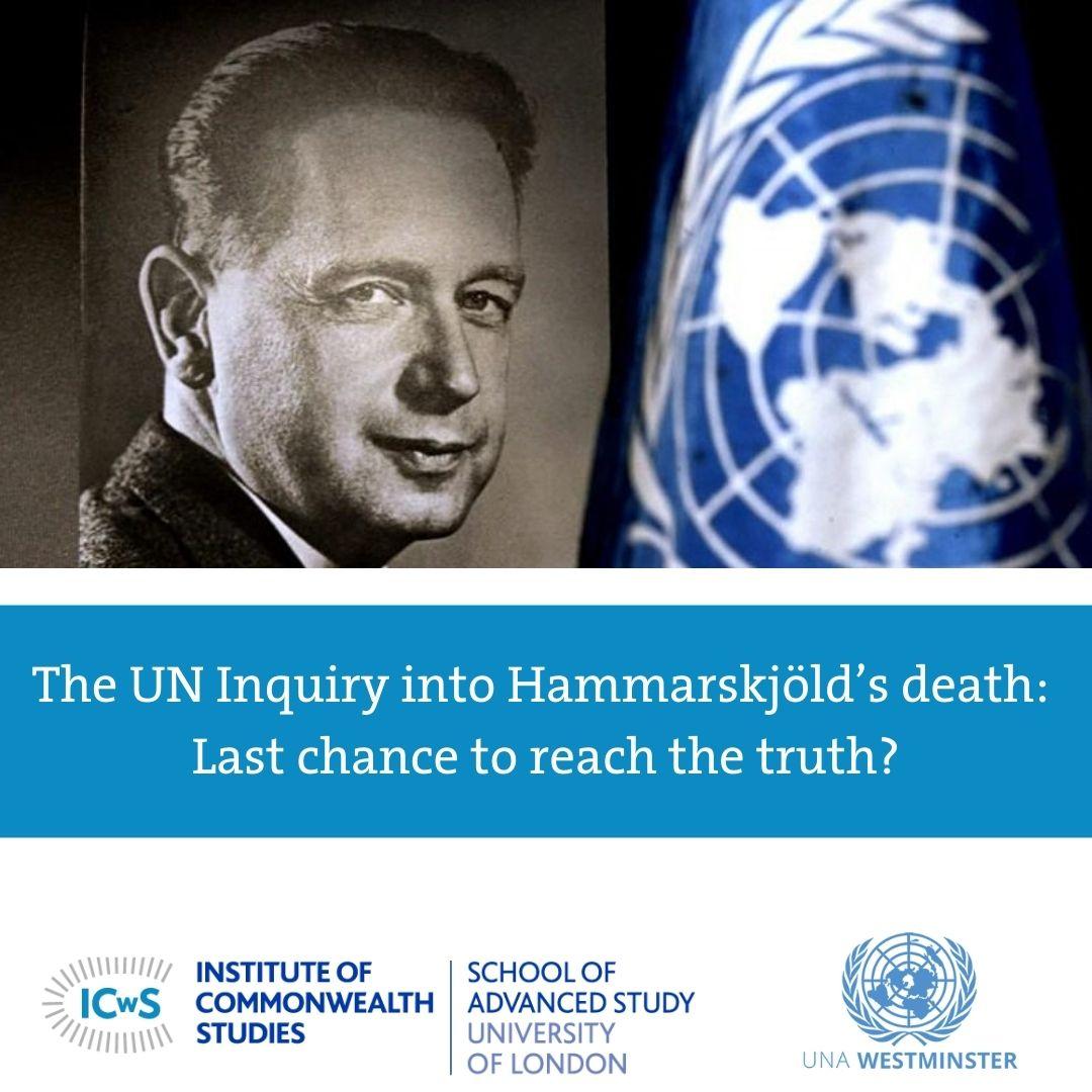 The UN Inquiry into Hammarskjöld's death: Last chance to reach the truth?