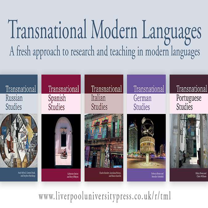 Transnational Modern Languages: Introducing the Book Series