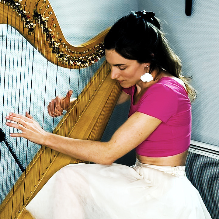 The harp in translation: Online concert and discussion