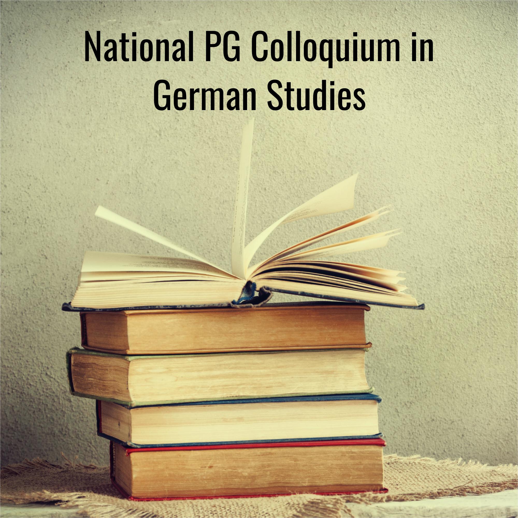 65th National PG Colloquium in German Studies