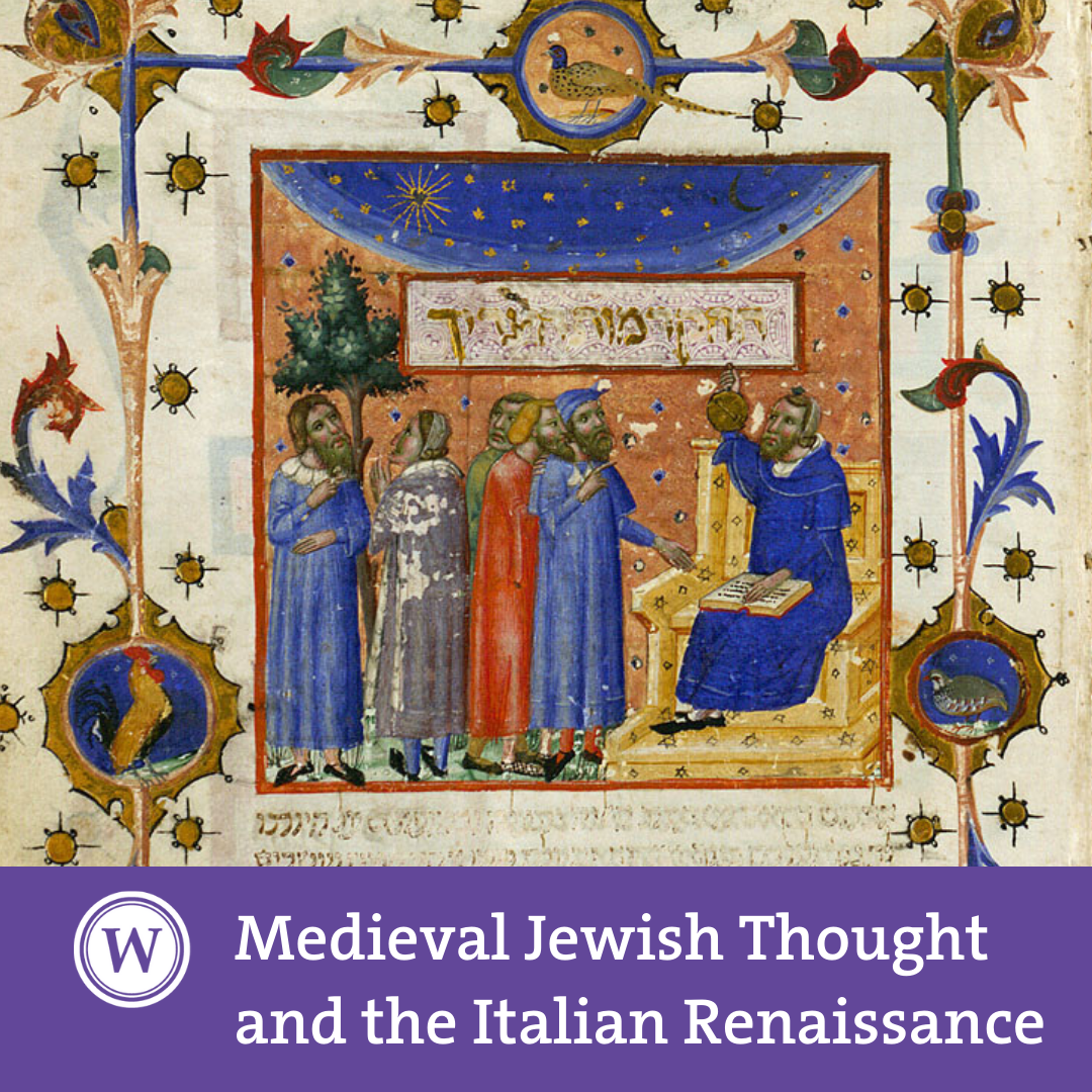 Medieval Jewish Thought and the Italian Renaissance