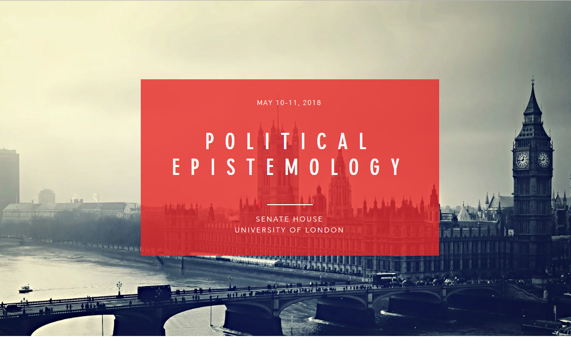 Political Epistemology