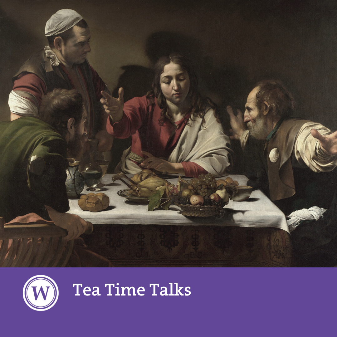 "Tea Time Talk: 'Ariadne's Threads: Reception as Cultural Memory and the ""Remaking"" of the Renaissance'"