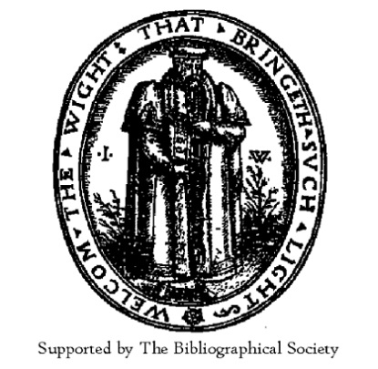 The Bibliographical Society Annual General Meeting