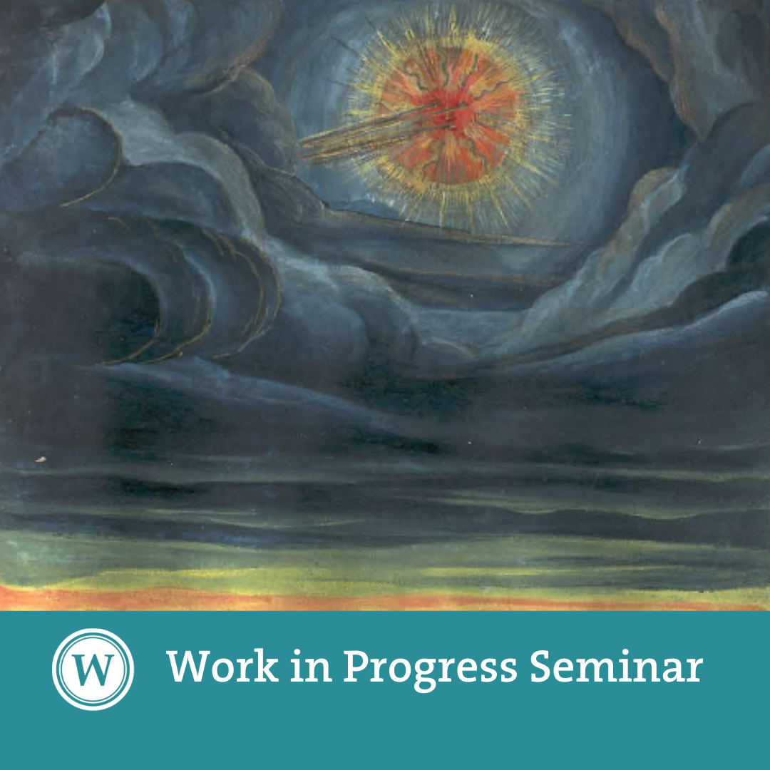 Work in Progress Seminar: in conversation with Federico Campagna