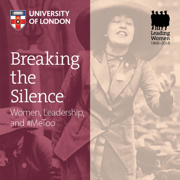 Postponed: Breaking the Silence: Women, Leadership, and #MeToo