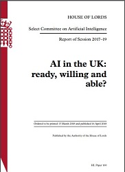 House of Lords AI Report: Policy Impact, Implementation, and Progress