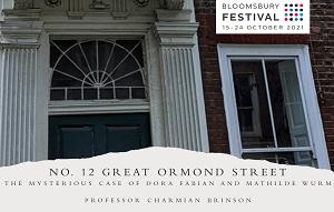 No. 12 Great Ormond Street