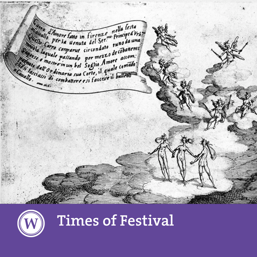 Times of Festival - Matteo Casini: 'A Society on Show: State Processions in Renaissance Venice (1495-1600)'