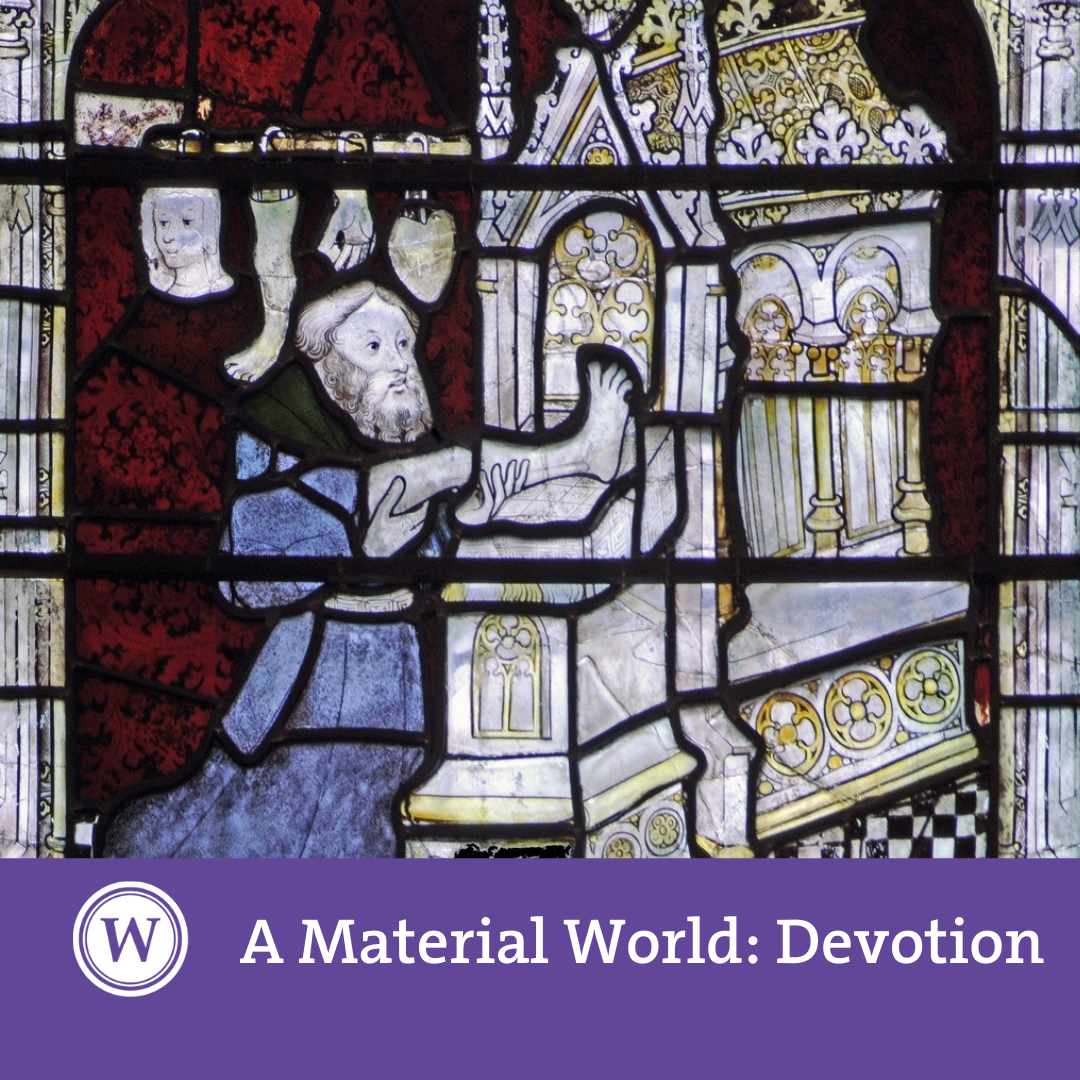A Material World - '(Im)material Devotions: Light and lighting devices in devotional practice'
