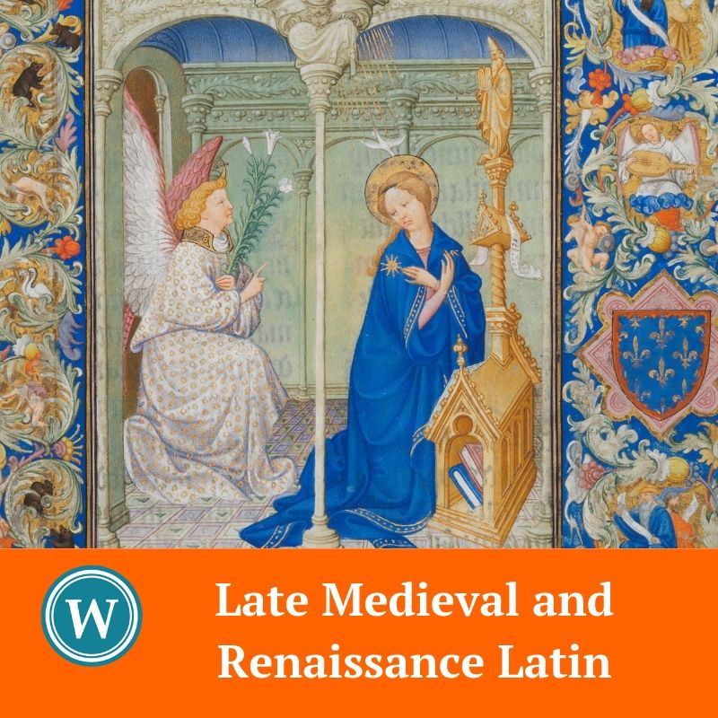 Late Medieval and Renaissance Latin - Beginners & Intermediate / Advanced