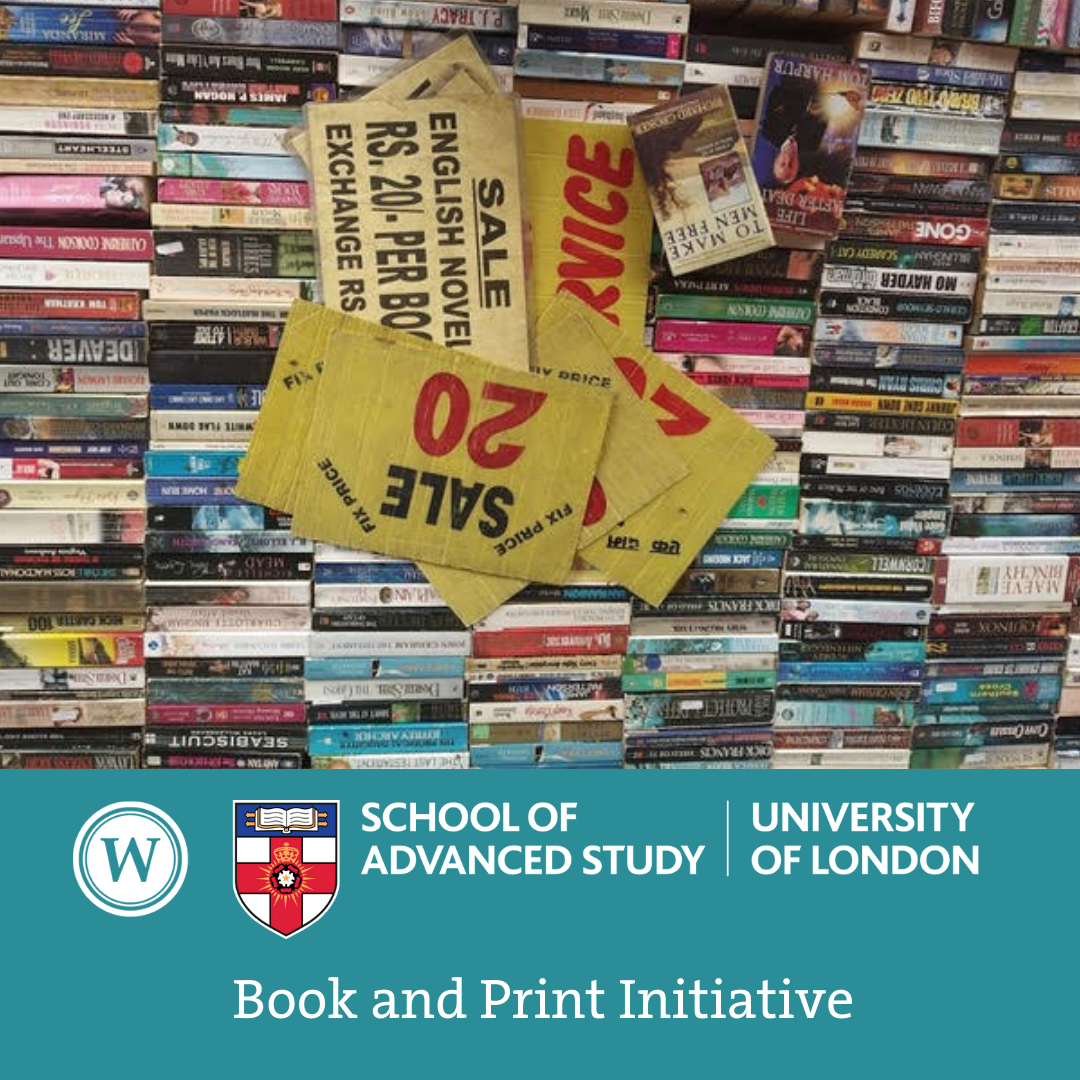 Book and Print Initiative - Kanu Priya Dhingra (SOAS): 'Books in the bazar: mapping parallel circuits of circulation'
